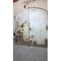 Antiguo Portón De Hierro Macizo!!!