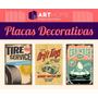 Placas Decorativas Em Mdf 20x30! Retrô Vintage Bar Musica