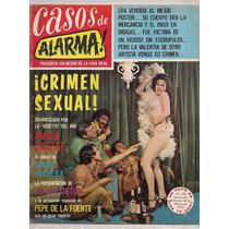 Revistas Casos De Alarma Vedettes Actrices México 1972