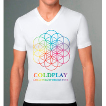 Playera Coldplay A Head Full Of Dreams Tour 2016