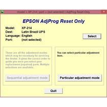 Reset Epson Xp214 - Erro Absorvente Cheio - Envio Via Email