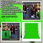 Fondo Pantalla Verde Chroma Key/ Fondo De Tela De 3 X2 Mts