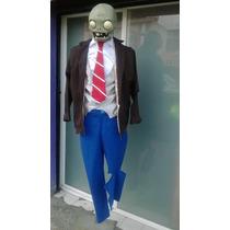 Disfraz Zombie Plantas Contra Zombies Adulto