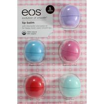 Cartela Kit De Eos Lip Balm Protetor Labial Com 5 Pronto.ent