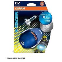Kit De Lampada H7 Osram X-racer Cool Blue- 4000k - 55w Par