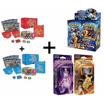 Pokemon Xy12 Evolutions Box + 2 Decks + 2 Elite Trainer Box