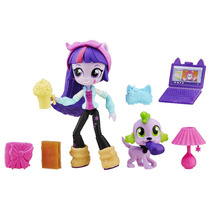 My Little Pony Equestria Girls Mini Twilight Sparkle E Pet