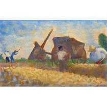 Cuadro Tela Georges Seurat 1883 Post Impresionista Frances
