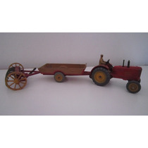 Dinky Toys Meccano Halesowen Tractor Carretilla Rastrillo