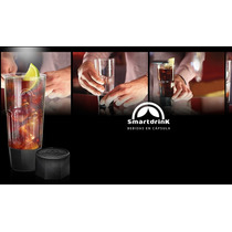 Tragos Smartdrink Kit En Capsulas Con 2 Vasos + Tin