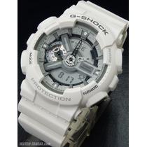 Casio G-shock Ga 110c-7aer Blanco