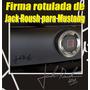 Firma Rotulada 3m De Jack Roush Para Mustang