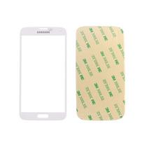 Cristal Vidrio Frontal Genérico Galaxy S5 Blanco + 3m Gratis