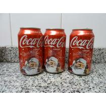 Lata Coca Cola Papá Noel Vacía De Usa,año2009 ,holiday 2008