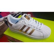 Adidas Superstar 2016 Dorado Nuevo Modelo Entrega Inmediat