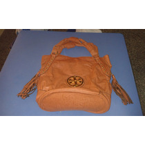 Espectacular Cartera Tory Burch Color Caramelo Importada Usa
