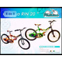 Bicicletas Platinium Clasica Rin 20