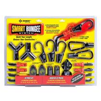 Cuerda Elástica (ligas) Smart Bungee & Conectores 22 Piezas