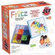 Jef-7205 Fritz Juego De Mesa Tipo Mosaicos 495 Piezas Jef