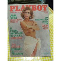 Revista Play Boy Con Laura Flores. 100% Desnuda