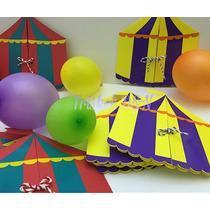 Invitaciones Tarjetas Circo
