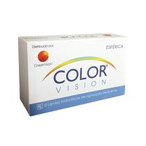 Lentes De Contato Coloridas Color Vision - Estojo Grátis