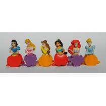 Coleccion De Princesas Disney Tipo Huevo Kinder 6 Miniaturas