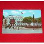 Antigua Postal Plaza De Armas Con Pileta Municipalidad Lima