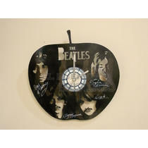 Reloj De Pared Decorativo The Beatles