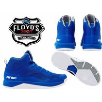Tenis Bota Basketball And1 Fantom Ii 2 D1084mmsw 28 Cms 10us