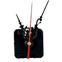Maquina De Reloj Rosca 6mm Con Agujas Pack X 50 Unidades