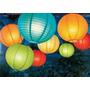 20 Luminárias Tecido 40cm Chinesa Japonesa Decoração Festa
