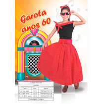 Fantasia Infantil Anos 60 Menina