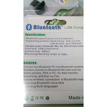 Bluetooth Adaptador Pc Usb 2.0 100m Alcance