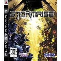 Ps3 * Stormrise * Usado * No Rj
