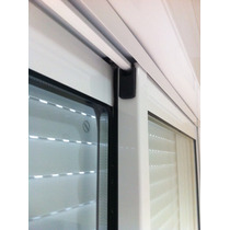 Janela Integrada Alumínio Bco C/ Vidro Acústico 150x135