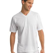 Remera Para Sublimar De Hombre Cuello En V Excelente Modal
