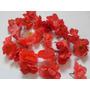 25 Flores De Tela Para Manualidades Jabones Lazos Cintillo