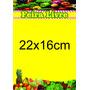 Cartaz Feira Livre Papel Cartão 250g (22x16cm) Pct 1000und.