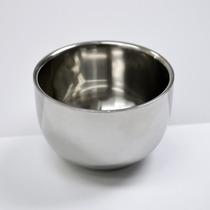Bowl Tazon Para Jabón De Afeitar Afeitado Rasurar Acero Inox