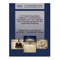 Libro J. M. Huber Corporation, Petitioner, V. Federal, Marx