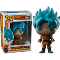 Funko Pop Dragon Ball - Goku Super Saiyan Blue Hair Azul
