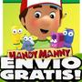 Kit Imprimible Manny A La Obra Diseñá Tarjetas, Cotillon