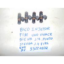 Bico Injetor Fiat Uno Vivace, Siena, Punto, 1.4 8v Motor Evo