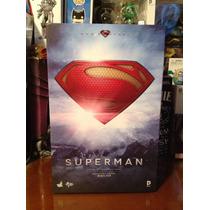 Superman Man Of Steel Hot Toys Nuevo!!!