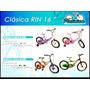 Bicicletas Platinium Clasica Y Deluxe Rin 16