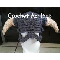 Gorro Skyrim Tejido Crochet