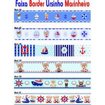 Faixa Border Marinheiro Adesivo Papel Parede Menino Infantil
