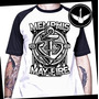 Camiseta Raglan Ou Baby Look Memphis May Fire Metalcore Hc