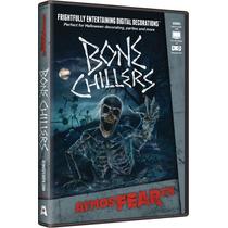 Atmosfear Fx Decoración Digital Para Halloween Bone Chillers